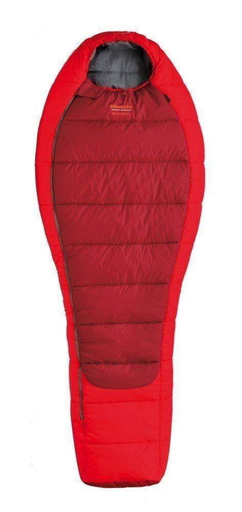 Спальний мішок Pinguin Comfort (-1/-7°C) 185 см червоний