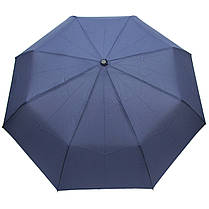Зонт складной Doppler 7443163DSZ SUPERSTRONG полный автомат синий, фото 3