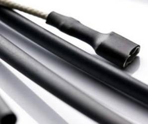 Термоусадочна трубка 12mm чорна 1м