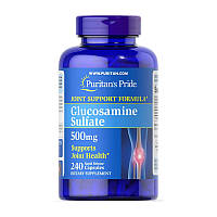 Сульфат глюкозамина 500 мг Puritan's Pride Glucosamine Sulfate 500 mg 240 caps