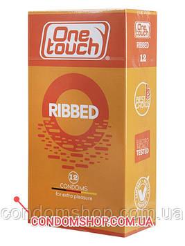 Презервативи преміум клас One touch ribbed ребристі #12 шт. ПРЕМІУМ німецька якість!