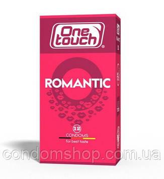 Презервативи One touch romantic Ван тач романтик ароматизовані з полуницею #12 шт. Преміум клас!