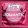 Презервативы One touch romantic  Ван тач романтик ароматизированные с клубникой #12 шт.Премиум класс!, фото 2