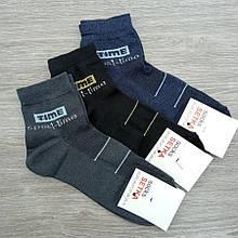 Шкарпетки чоловічі літні сітка короткі SPORT-TIME 27-29р темне асорті 30031526