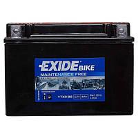 Мото аккумулятор EXIDE YTX9-BS, фото 1