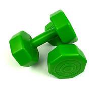 Гантели для фитнеса 2 кг. x 2 шт., композитные