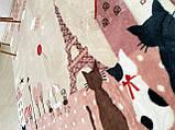 """Бесплатная доставка! Ковер в детскую  """"Париж""""  (185*185 см), фото 6"""