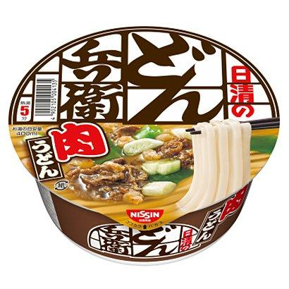 Лапша Удон Nissin Donbei Udon Beef Flavor 87 g