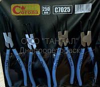 Набор щипцов Corona C7025 для стопорных колец наружных и внутренних до 250 мм