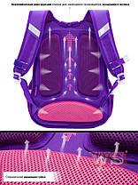 Школьный рюкзак для девочки в 1-4 класс ортопедический коты SkyName R3-240, фото 2