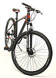 """Велосипед Oskar 29"""" JURA чорно-червоний (29-1806h-rd), фото 2"""