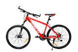 """Велосипед Oskar 26""""Plus 500 красный (26-16011-rd), фото 2"""