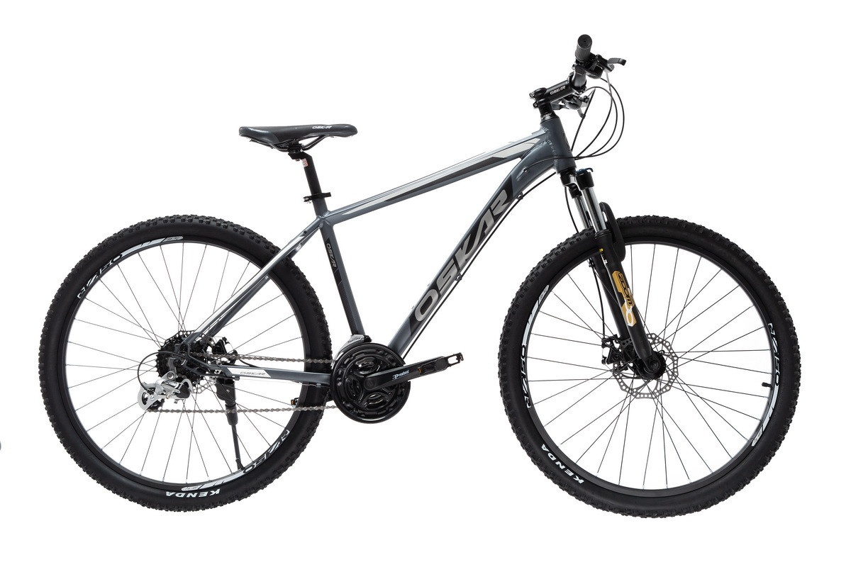 "Велосипед Oskar 27,5""AIM серый (27,5-aim-gr)"