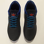 Кросівки чоловічі Adidas р. 41 шкіра Харків темно-сині, фото 5