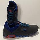 Кросівки чоловічі Adidas р. 41 шкіра Харків темно-сині, фото 7
