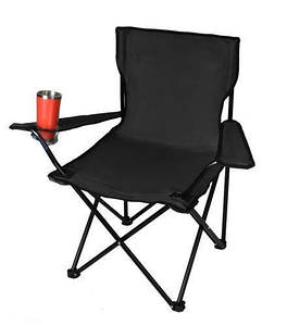 Кресло паук туристическое с подстаканником, для рыбалки и пикника Кемпинг кресло