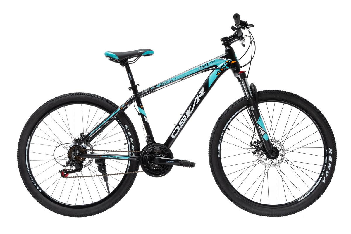 """Велосипед Oskar 27,5"""" SAFE 100 черный (27,5-1812-bk)"""