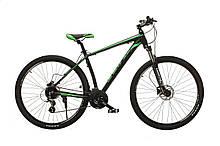 """Велосипед Oskar 29"""" JURA чорно-зелений (29-1806h-gn)"""