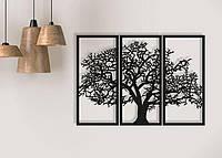 Декоративное панно Дерево из трёх частей