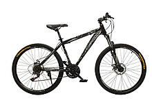 """Велосипед Oskar 26""""M123 черно-белый (26-m123-bk+wt)"""