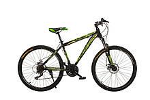 "Велосипед Oskar 26""M123 черно-зеленый (26-m123-bk+gn)"