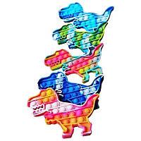 Игра Антистресс Pop It / Поп Ит Динозавр 20 х 17
