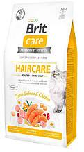 Brit Care Cat GF Haircare Healthy & Shiny  Coat, 2кг (здоровья кожи и шерсти)