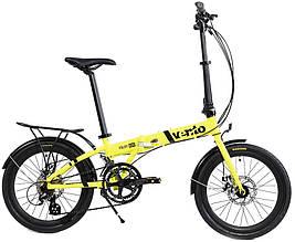 Складной велосипед Vento Foldy Adv 2020 желтый