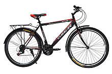 """Велосипед Oskar 26"""" GTX черно-красный (26-1527-rd)"""