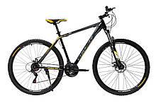 """Велосипед Oskar 29"""" 550 чорно-жовтий (29-1848-ye)"""