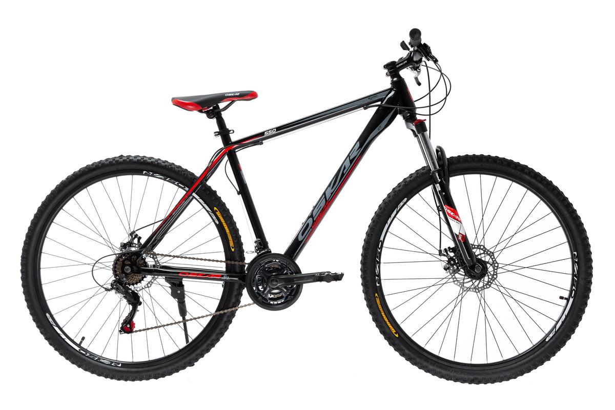 """Велосипед Oskar 29"""" 550 черно-красный (29-1848-rd)"""