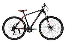 """Велосипед Oskar 29"""" 550 чорно-червоний (29-1848-rd)"""