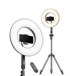 Кольцевая LED лампа TaoTronics 14'' + штатив (TT-CL030)