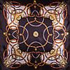 Женский элегантный атласный платок размером 88*90 см ETERNO (ЭТЕРНО) ES0406-5-9