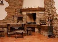 Облицовка стен камнем или где купить натуральный камень для интерьера.
