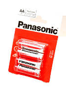 Батарейка Panasonic Red Zinc R6RZ/4BP, AA/(L)R6, солевая блистер 4шт, цена за уп.