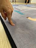 """Бесплатная доставка! Коврик в детскую """"Динопарк"""" утепленный (1.5*2 м), фото 6"""