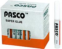 Супер-клей PASCO (2g), cупер клей для металла, пластика, дерева, фарфора
