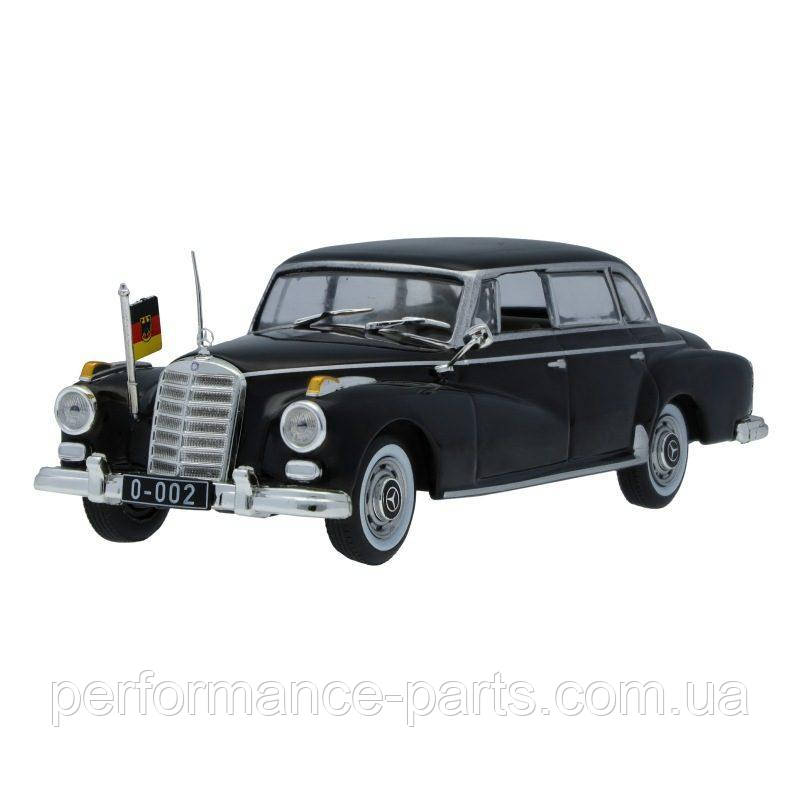 Масштабная модель Mercedes-Benz 300 D W 189 (1957-1962), Black, Scale 1:43,B66041054 Официальная коллекция