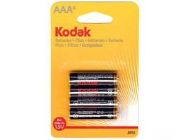 Батарейка Kodak 1.5V R3, ААA щелочная, цена за 4 шт