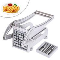 Машинка для нарезки картофеля фри соломкой, картофелерезка ручная, сталь