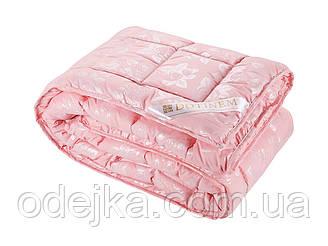 Ковдра DOTINEM ROSALIE штучний лебединий пух 195х215 см рожеве (211130-3)