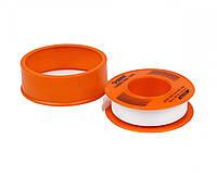 Тефлоновая лента уплотнительная 10м*12мм*0,1мм (52-001) POLAX