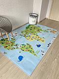 """Бесплатная доставка! Ковер """"Карта мира""""  (2*3 м), фото 3"""