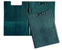 Папка-планшет А5 ( обложка пленка ПВХ, цвет чёрный, картон пр-во Голландия,2мм) ППВ-2 Бриск