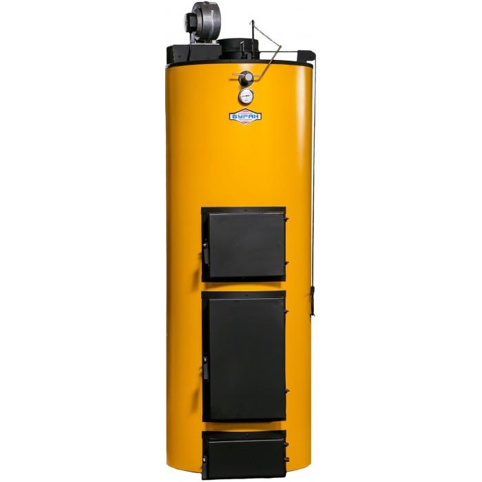 Котел длительного горения Буран New 40 кВт с ГВС