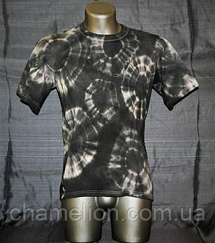 Ексклюзивна футболка Тай-Дай чорно-біла (Эксклюзивная футболка Тай-Дай черно-белая )