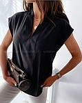 Жіноча блузка софт (Батал), фото 3
