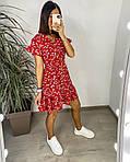 Сукня з гумкою на талії і квітковим принтом, фото 6