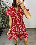 Сукня з гумкою на талії і квітковим принтом, фото 7